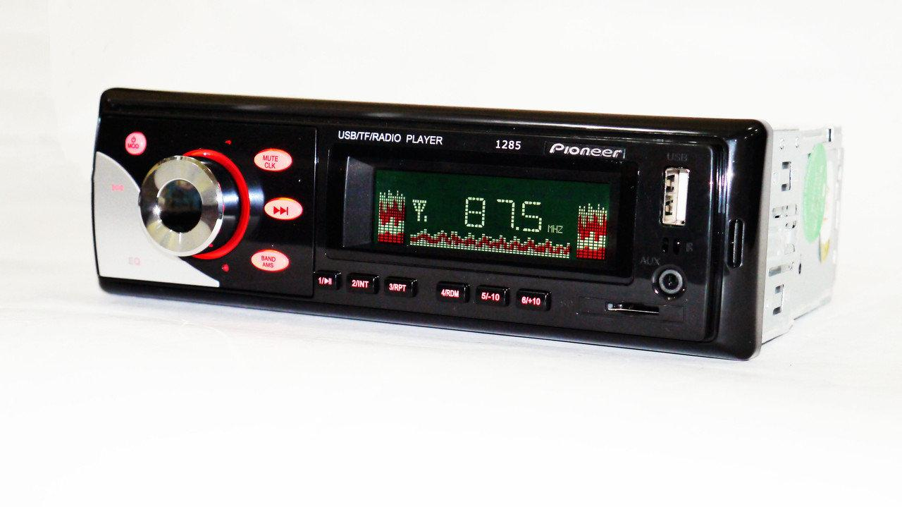 Магнітола в машину Pioneer 1285 ISO на флешку + пульт