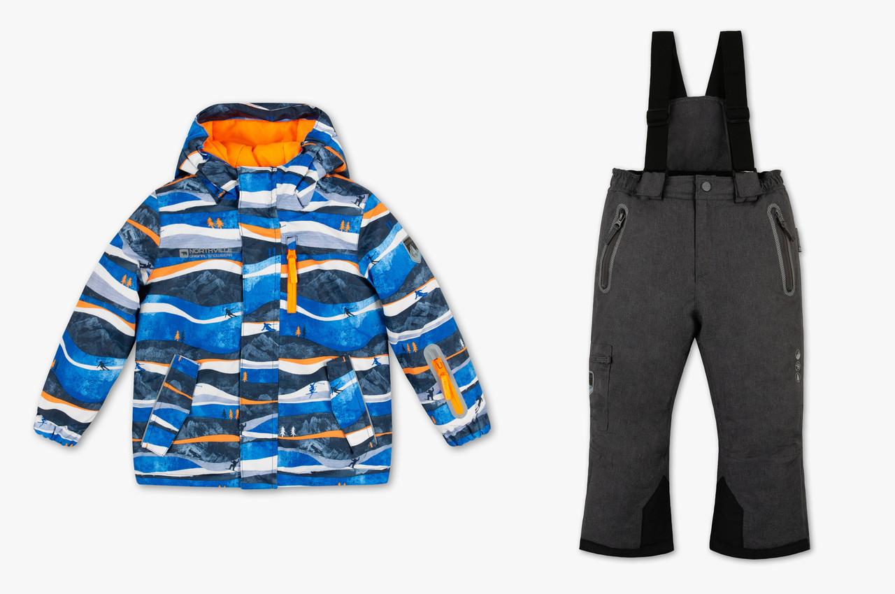 Зимовий лижний костюм для хлопчика C&A Німеччина Розмір 122, 128