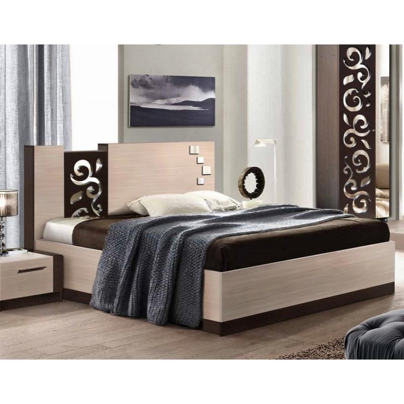 Кровать Сага 140 (без каркаса) Мастер Форм