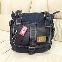 Женская молодежная джинсовая сумка