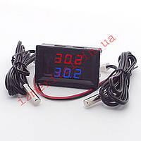 Цифровой термометр -50...+125 °С 80В, фото 1