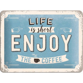 Табличка Nostalgic-Art Enjoy the Coffee (26190)