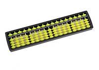 Счеты абакус  с желтыми косточками ментальная арифметика 17 рядов.  Game toys