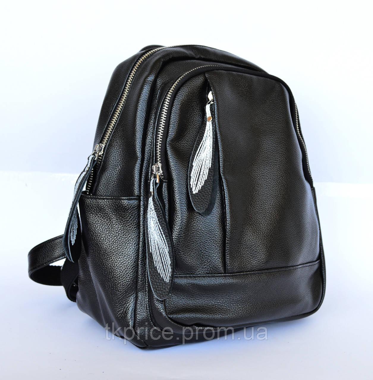 Стильный качественный рюкзак с эко-кожи  468