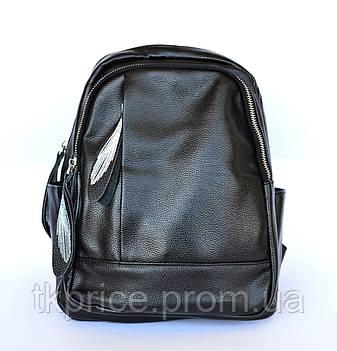 Стильный качественный рюкзак с эко-кожи  468, фото 2