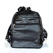 Стильный качественный рюкзак с эко-кожи  468, фото 3