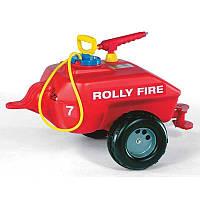 Прицеп-цистерна Rolly Toys rollyTrailer Пожарная бригада (122967)