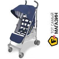Прогулочная коляска- трость одноместная Maclaren Quest Regency Stripe (WD1G043022) темно-синий