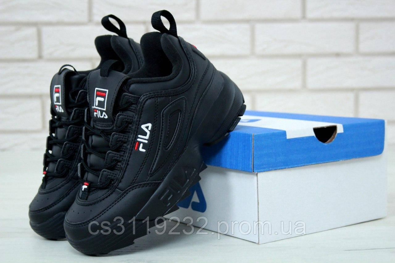Женские кроссовки Fila Disruptor (черный)
