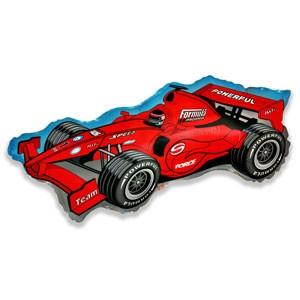 Фольгированный шар Формула 45см х 92см Красный