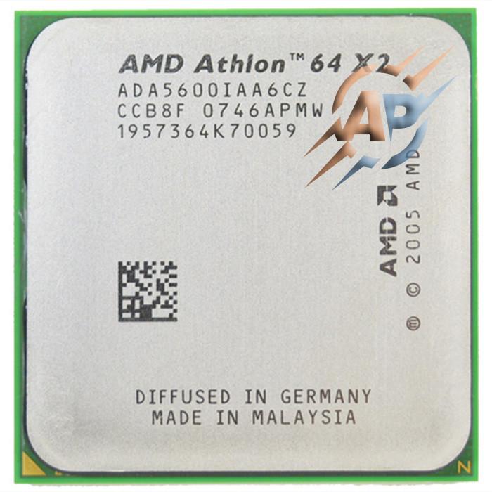 Процессор AMD Athlon 64 X2 5600+ (2800MHz, сокет AM2) ADО5600IAA5DO