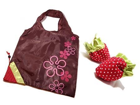Эко-сумочка «Клубничка»