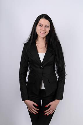 """Элегантный женский пиджак """"TIDA"""" с длинным рукавом (2 цвета), фото 2"""