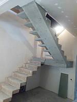 Лестница бетонна для частного дома