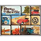 Набор из 9 магнитов Nostalgic-Art VW Beach (83053), фото 2