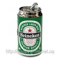 Зажигалка с фонариком - Банка пива, подарок парню на 23 февраля