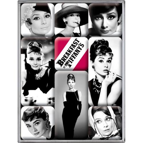 Набор из 9 магнитов Nostalgic-Art Audrey Hepburn (83040)