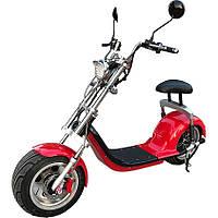 Электроскутер CityCoco Harley 1500W 12 дюймов (литой диск), 60V 20Ah