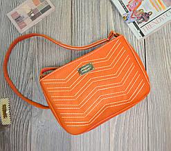 """Сумочка """"Lili"""" 17 - оранжевого кольору"""