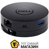 USB-хаб Dell DA300 Adapter USB-C to HDMI/VGA/DP/Ethernet/USB-A/USB-C (492-BCJL)