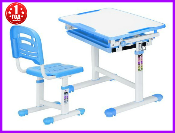 Комплект Evo-kids стул+стол Evo-06 Blue