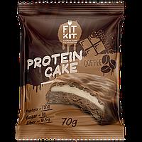 Fit Kit Протеиновое пирожное Шоколад-Кофе (70 грамм)