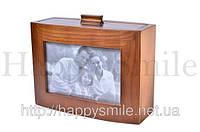 Фотоальбом семейный из дерева, подарок для влюбленных