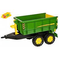 Прицеп Rolly Toys John Deere самосвальный прицеп для трактора (125098)