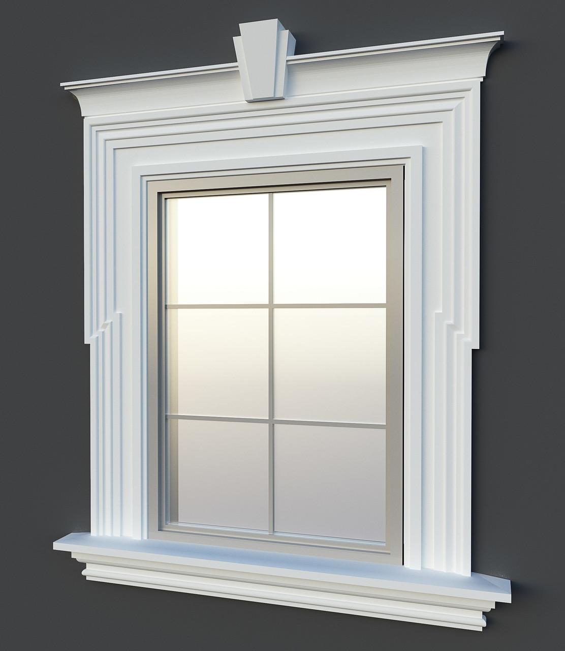 фото обналички на окна из полиуретана для безалкогольных крепких
