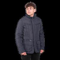 Мужская осенняя куртка Geox 5420 A синего цвета