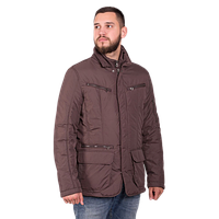 Мужская осенняя куртка Geox 5420 A коричневого цвета