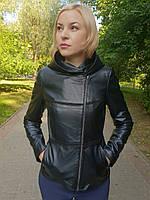 Женская кожаная куртка-трансформер, фото 1