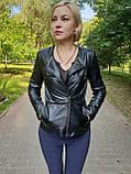 Женская кожаная куртка-трансформер, фото 5