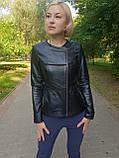 Женская кожаная куртка-трансформер, фото 6