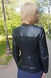 Женская кожаная куртка-трансформер, фото 8