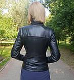 Женская кожаная куртка-трансформер, фото 9