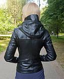 Женская кожаная куртка-трансформер, фото 3