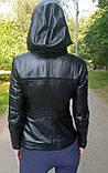 Женская кожаная куртка-трансформер, фото 4