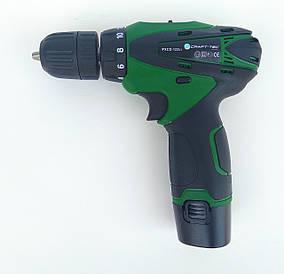 Шуруповерт Craft - tec PXCD - 12 - 2 - Li ( 2 акумулятора )