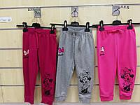 Спортивные штаны для девочек оптом, Disney, 98-134 см,  № 92564