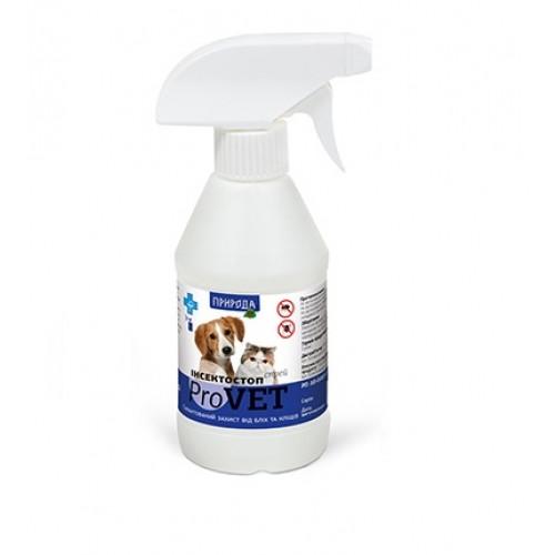 Инсектостоп  ProVET спрей а/б 250 мл для взрослых собак и кошек