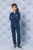 Костюм спортивный детский куртка+штаны джинс