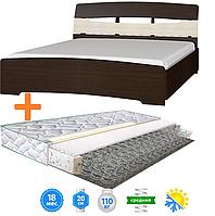 ✅ Двуспальная кровать с матрасом 160х200