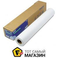 Бумага Epson 260 г/м.кв., рулон 610 мм х 30.5 м, полуглянцевая (C13S042081) 610 мм — фотобумага для плоттера 260