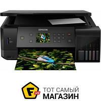Мфу стационарный L7160 Wi-Fi (C11CG15404) a4 (21 x 29.7 см) для малого офиса - струйная печать (цветная)