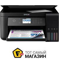 Мфу стационарный L6160 Wi-Fi (C11CG21404) a4 (21 x 29.7 см) для малого офиса - струйная печать (цветная)