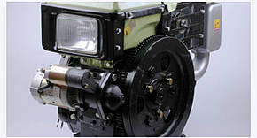 Двигатель SH195NDL - Zubr (12 л.с.) с электростартером