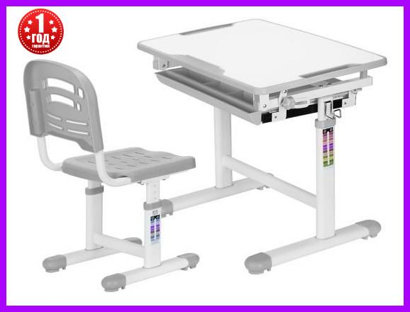 Комплект Evo-kids стул+стол Evo-06 Grey