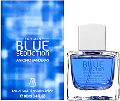 Мужская туалетная вода Blue Seduction Antonio Banderas for Men - 100 ml