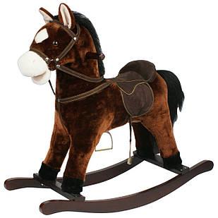 Качалка лошадка Urvisko 003 коричневый